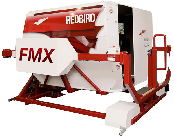 Redbird FMX AATD Flight Simulator